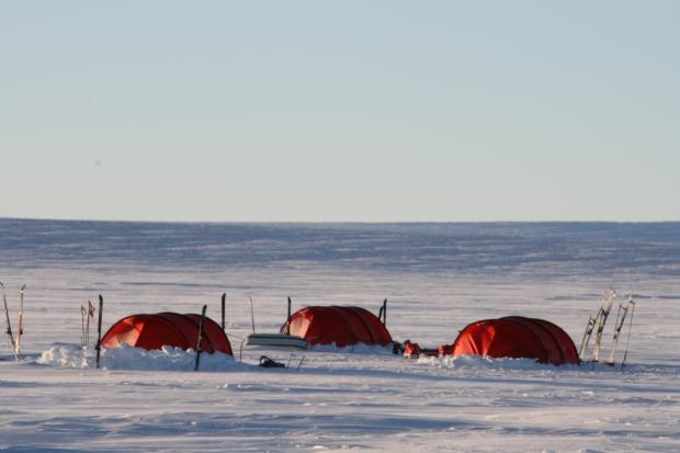 Acclimatisation Trek – Campsite