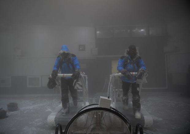 Human freezer – Minus 40 training for Antarctica