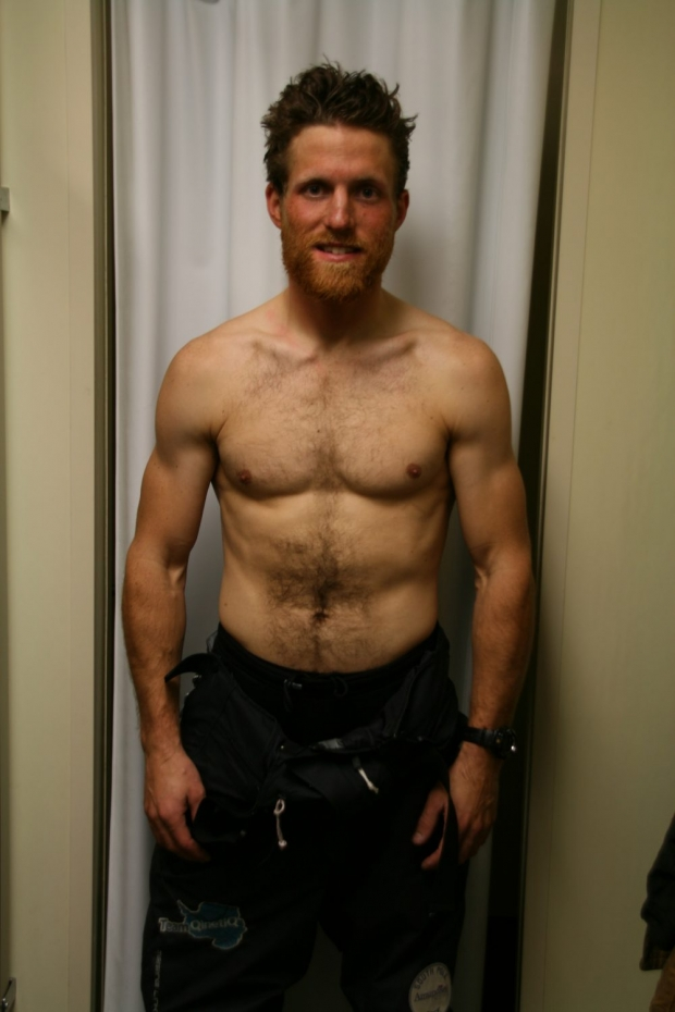 Dr Ed Coats weight loss at race end