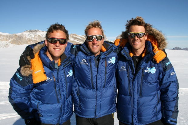 Ed Coats Ben Fogle James Cracknell Switzerland