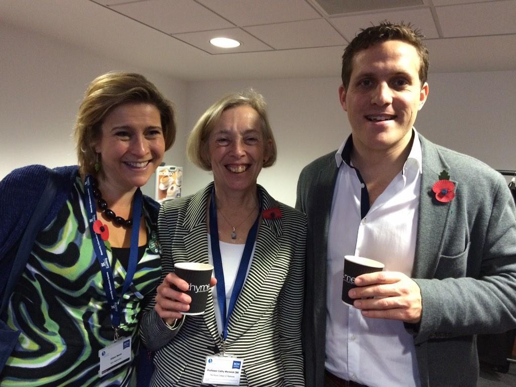 Alison Baum, Cathy Warwick, Dr Ed Coats