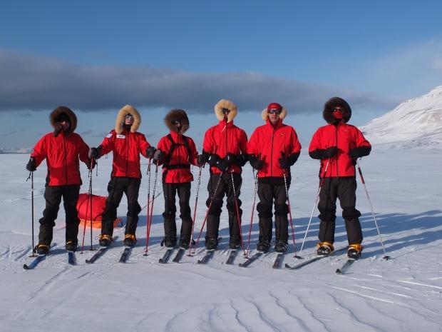 Six Ordinary Men – Training for the ice cap