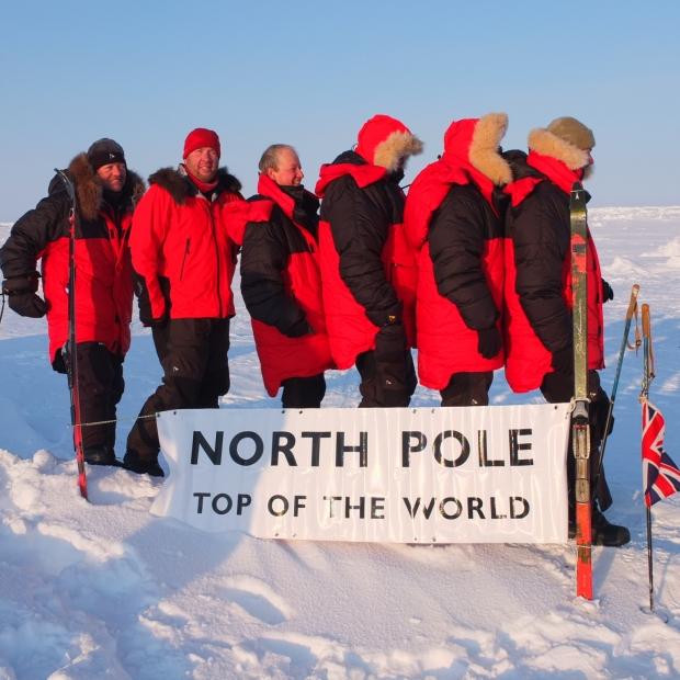 Six Ordinary Men – North Pole!