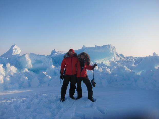 Ice boulder fields