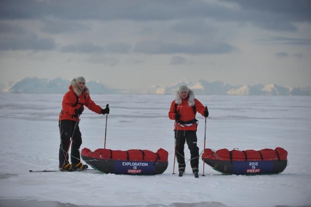 Ice guides Al & Ed